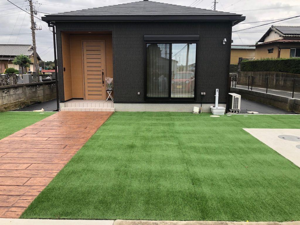 素敵な庭の完成!